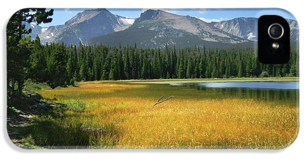 IPhone 5 Case featuring the photograph Autumn At Bierstadt Lake by David Chandler