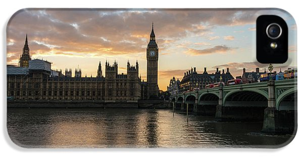 Big Ben London Sunset IPhone 5 / 5s Case by Mike Reid