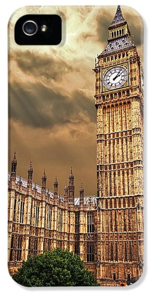 Big Ben's House IPhone 5 / 5s Case by Meirion Matthias
