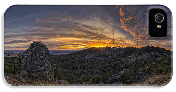 Big Rock Panorama IPhone 5 Case by Mark Kiver