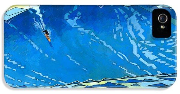 Big Wave IPhone 5 Case by Douglas Simonson