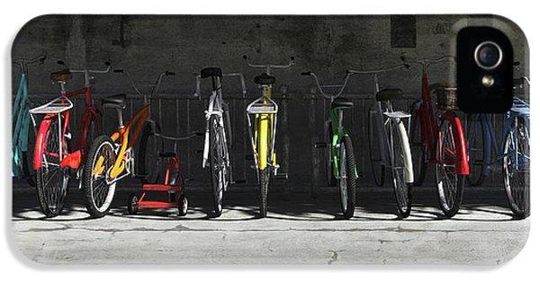 Bike Rack IPhone 5 / 5s Case by Cynthia Decker