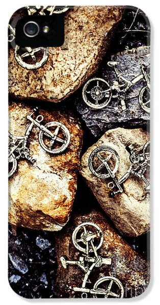 Biking Trail Scene IPhone 5 Case by Jorgo Photography - Wall Art Gallery