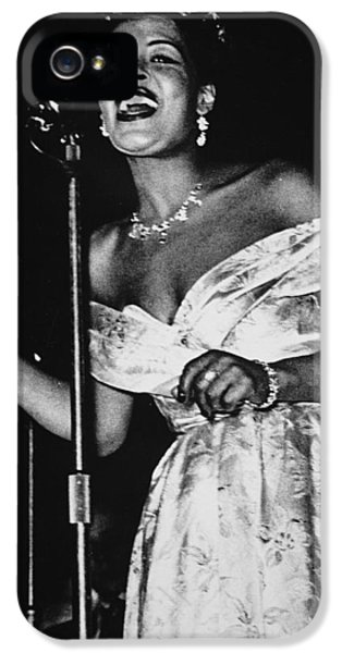 Billie Holiday IPhone 5 Case