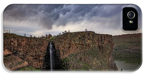 Oregon State iPhone 5 Case - Billy Chinook Falls by Cat Connor