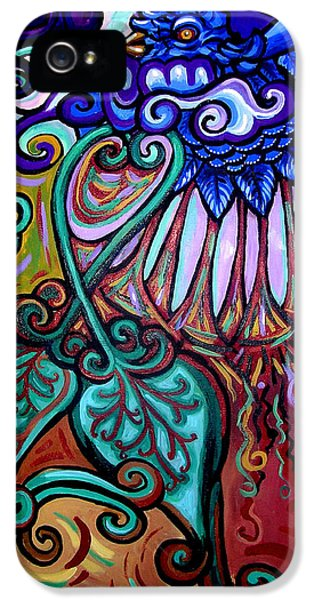 Gaia iPhone 5 Cases - Bird Heart III iPhone 5 Case by Genevieve Esson