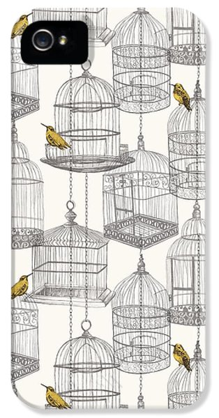 Birdcages IPhone 5 / 5s Case by Stephanie Davies