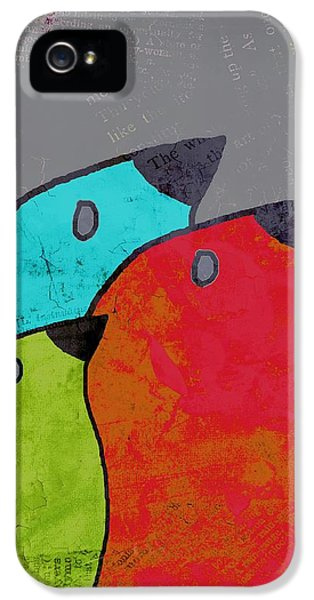 Birdies - V11b IPhone 5 / 5s Case by Variance Collections