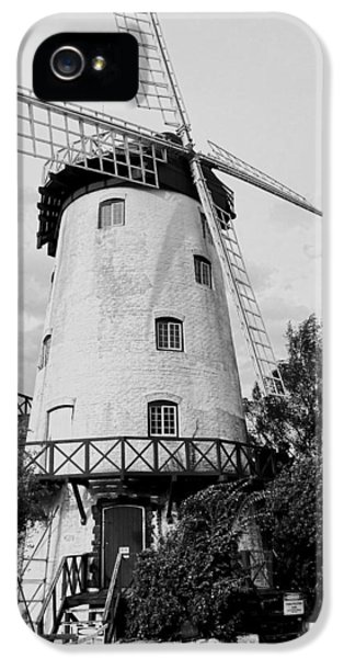 Black And White Windmill IPhone 5 Case