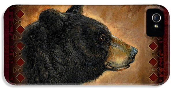 Black Bear Lodge IPhone 5 / 5s Case by JQ Licensing