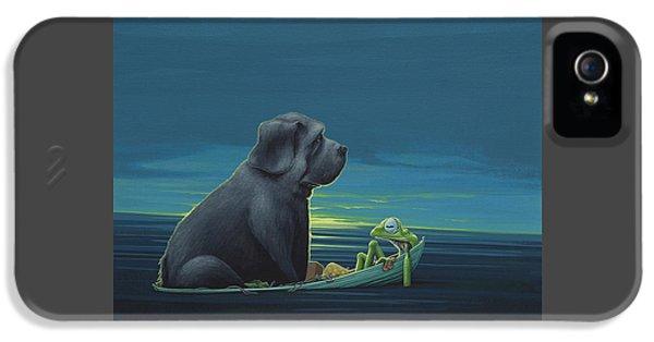 Black Dog IPhone 5 / 5s Case by Jasper Oostland