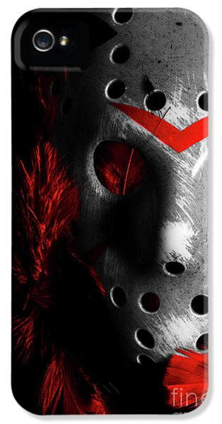 Hockey iPhone 5 Case - Black Friday The 13th  by Jorgo Photography - Wall Art Gallery