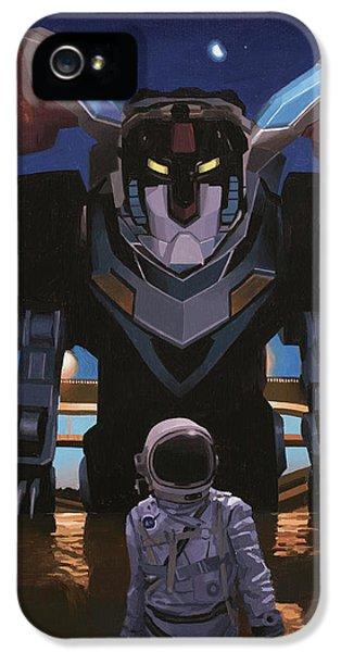 Black Lion IPhone 5 Case