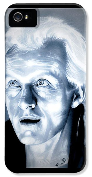 Blade Runner Roy Batty IPhone 5 Case by Fred Larucci