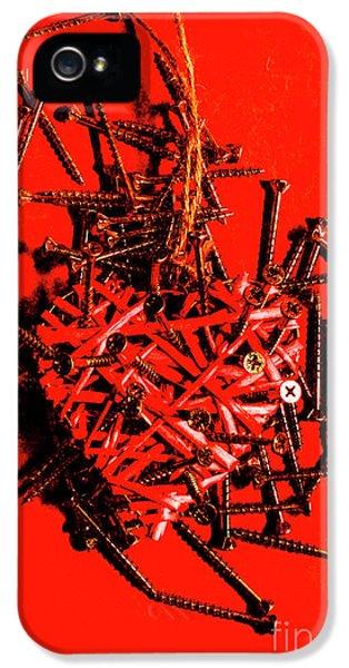 Damage iPhone 5 Case - Bleeding Hearts by Jorgo Photography - Wall Art Gallery