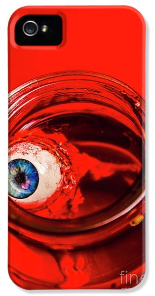 Eyeball iPhone 5 Case - Blind Fear by Jorgo Photography - Wall Art Gallery