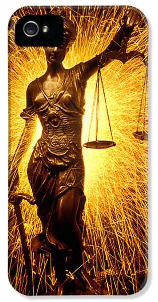 Blind Justice  IPhone 5 Case