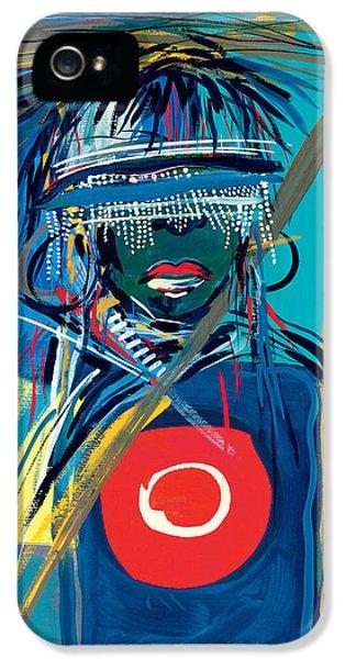 Blind To Culture IPhone 5 Case by Oglafa Ebitari Perrin