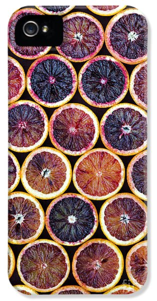Blood Oranges Pattern IPhone 5 Case by Tim Gainey