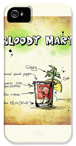 Bloody Mary IPhone 5 Case