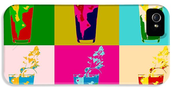 Bloody Mary Pop Art Panels IPhone 5 / 5s Case by Dan Sproul