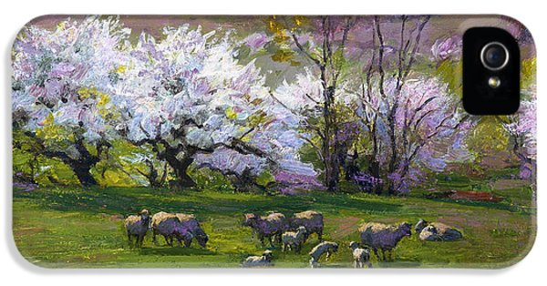 Blossom Time IPhone 5 Case by Edward Henry Potthast
