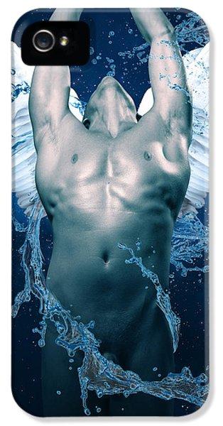Blue Angel  IPhone 5 Case