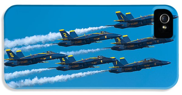 Blue Angels IPhone 5 Case by Sebastian Musial