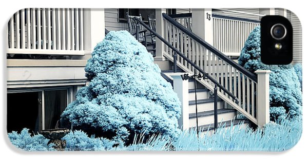 Blue Grass In Ocean Grove IPhone 5 Case by John Rizzuto
