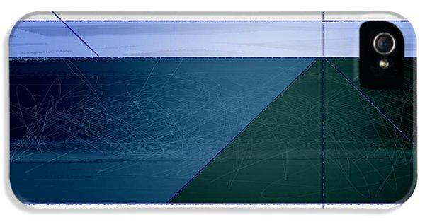 Blue Haze IPhone 5 Case by Naxart Studio