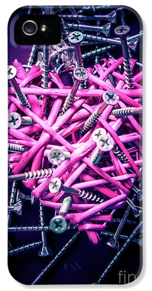 Blue Heart Turmoil  IPhone 5 Case by Jorgo Photography - Wall Art Gallery