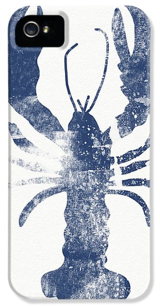 Blue Lobster- Art By Linda Woods IPhone 5 Case