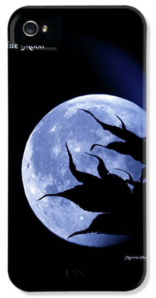 Blue Moon IPhone 5 Case by Myrtle Winchester