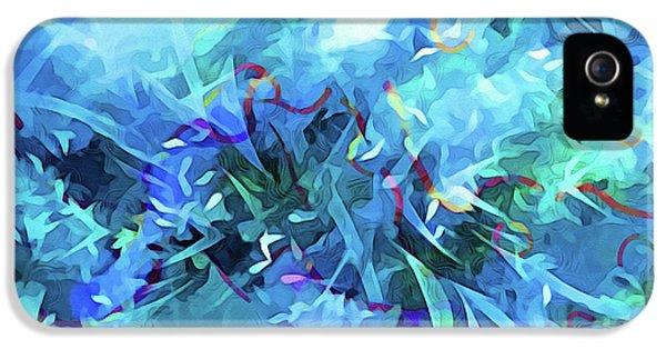 Blue Movement IPhone 5 Case by Lutz Baar
