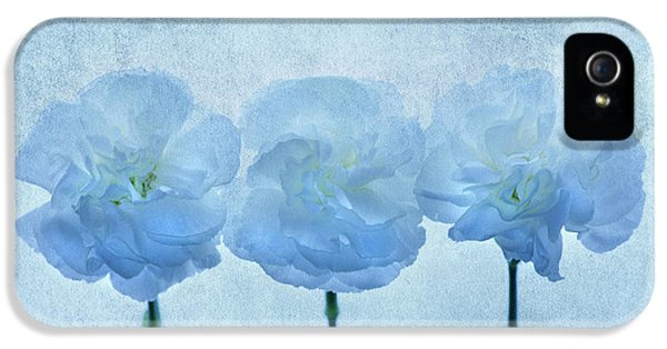 Blue On Blue IPhone 5 Case by Rebecca Cozart