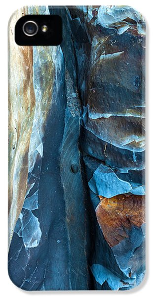 Landscape iPhone 5 Case - blue Pattern 2 by Jonathan Nguyen