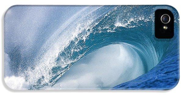 Blue Rush IPhone 5 Case by Sean Davey