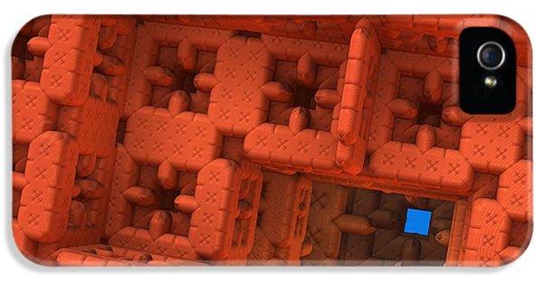 Blue Square IPhone 5 Case