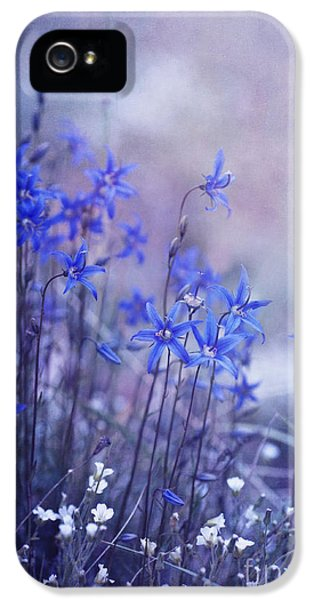 Bluebell Heaven IPhone 5 Case by Priska Wettstein