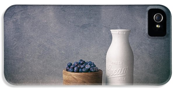 Blueberries And Cream IPhone 5 Case