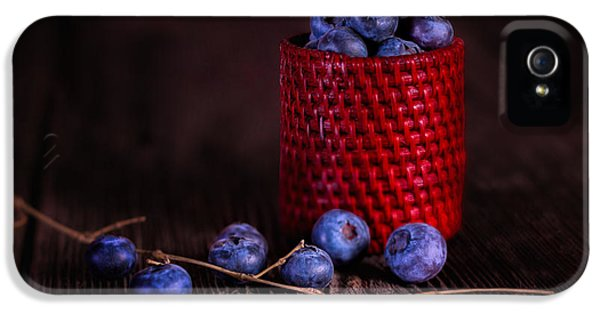 Blueberry Delight IPhone 5 Case