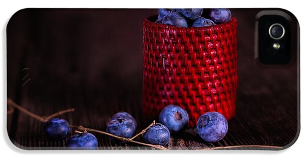 Blueberry Delight IPhone 5 Case by Tom Mc Nemar