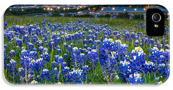 Bluebonnets In Dallas IPhone 5 Case by Inge Johnsson