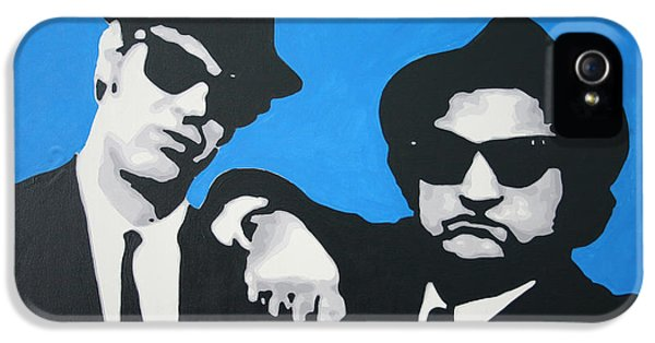 Blues Brothers 2013 IPhone 5 Case by Luis Ludzska