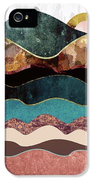 Landscapes iPhone 5 Case - Blush Moon by Katherine Smit