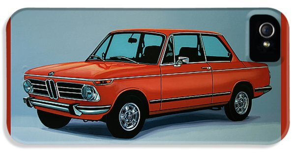 Bmw 2002 1968 Painting IPhone 5 Case by Paul Meijering