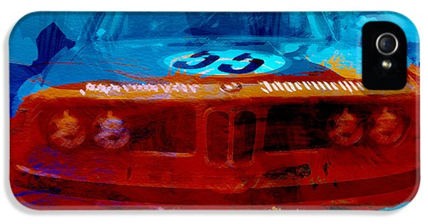 Bmw Jagermeister IPhone 5 Case by Naxart Studio