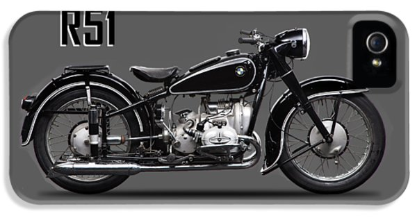 Transportation iPhone 5 Case - The R51 Motorcycle by Mark Rogan