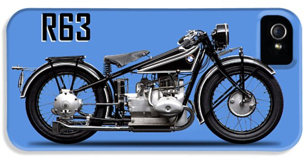 Transportation iPhone 5 Case - The R63 Motorcycle by Mark Rogan