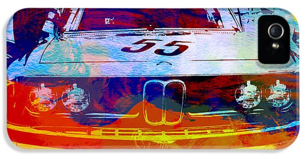 Engine iPhone 5 Cases - BMW Racing iPhone 5 Case by Naxart Studio